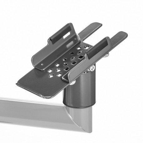 Uniwersalny uchwyt pod drukarkę fiskalną z regulacją bocznych ograniczników (112-195mm)