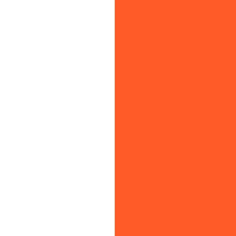 biało-pomarańczowy
