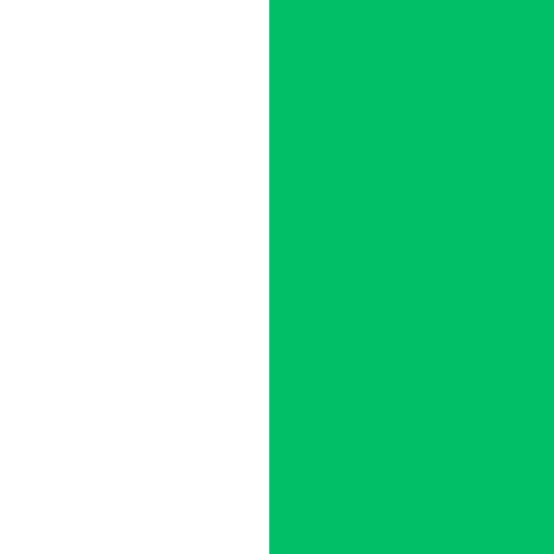 biało-zielona